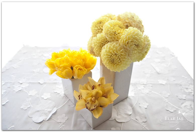 San Francisco Wedding Planner Centerpiece Of The Week Yellow And